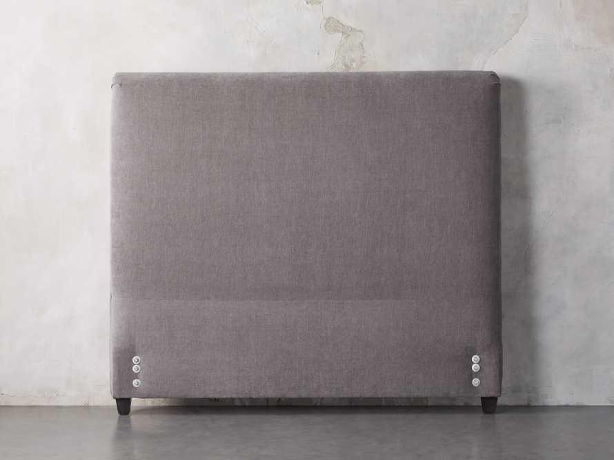 "Nolan 61"" Upholstered King Headboard with Metal Frame, slide 2 of 4"