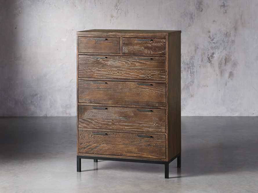Palmer Two Over Four Dresser in Bali Brown, slide 2 of 7