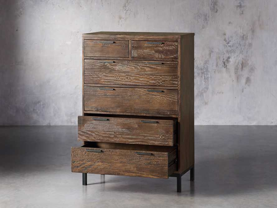 Palmer Two Over Four Dresser in Bali Brown, slide 3 of 7