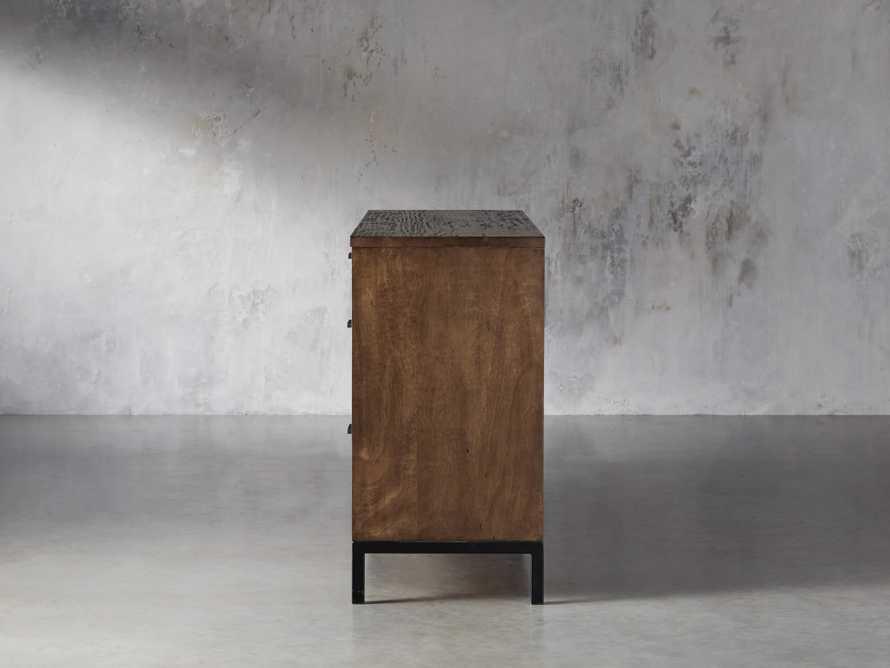 Palmer Seven Drawer Dresser in Bali Brown, slide 4 of 8