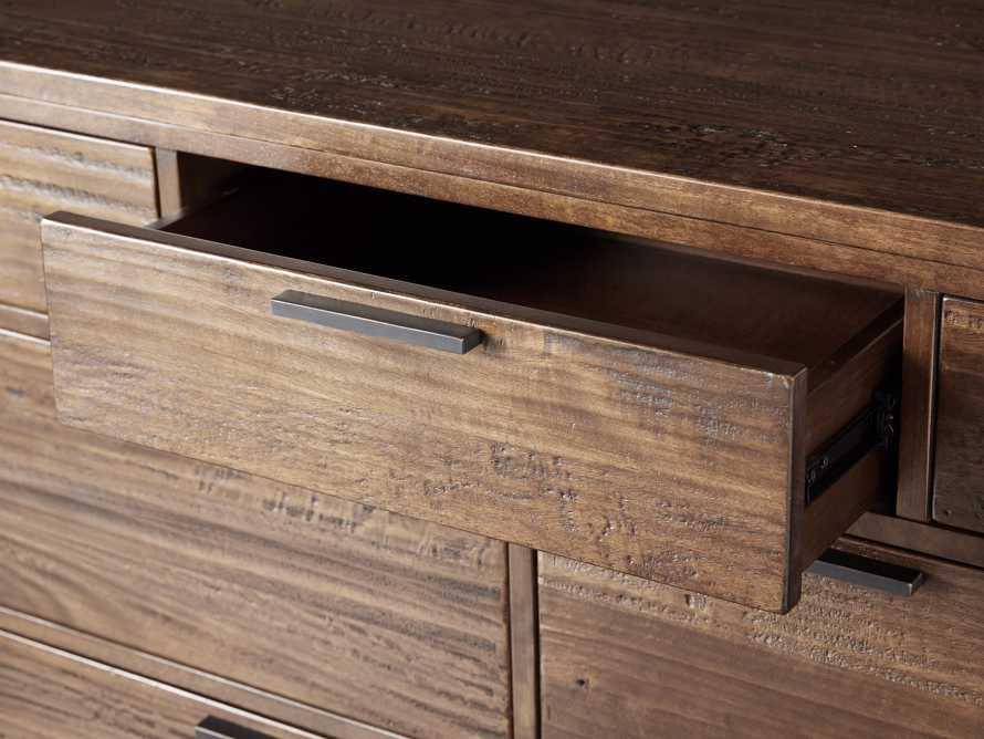 Palmer Seven Drawer Dresser in Bali Brown, slide 6 of 8