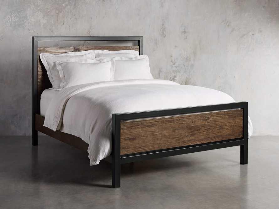 Palmer Cali King Bed in Brown, slide 1 of 6