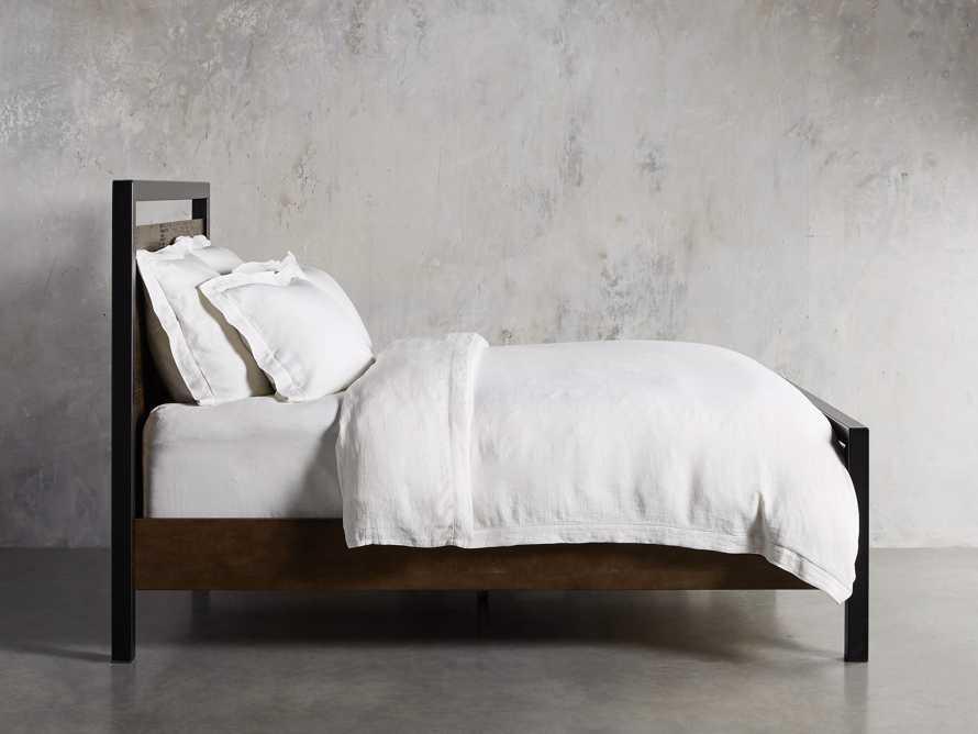 Palmer Cali King Bed in Brown, slide 2 of 6
