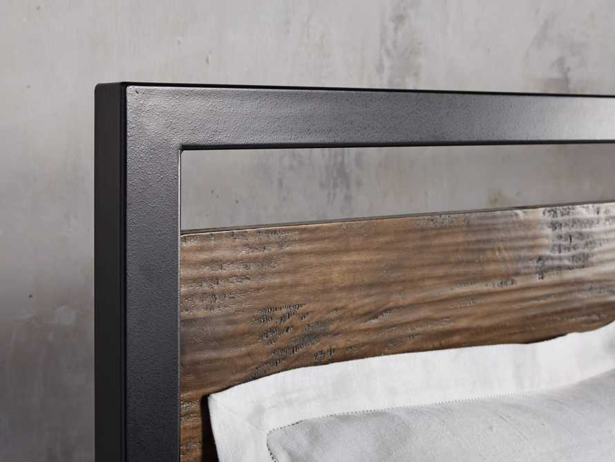 Palmer Cali King Bed in Brown, slide 4 of 6