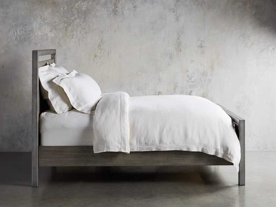 Palmer Queen Bed in Stone on Ash, slide 3 of 6