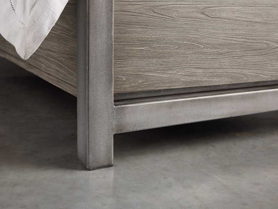Palmer Queen Storage Bed in Stone on Ash, slide 8 of 10