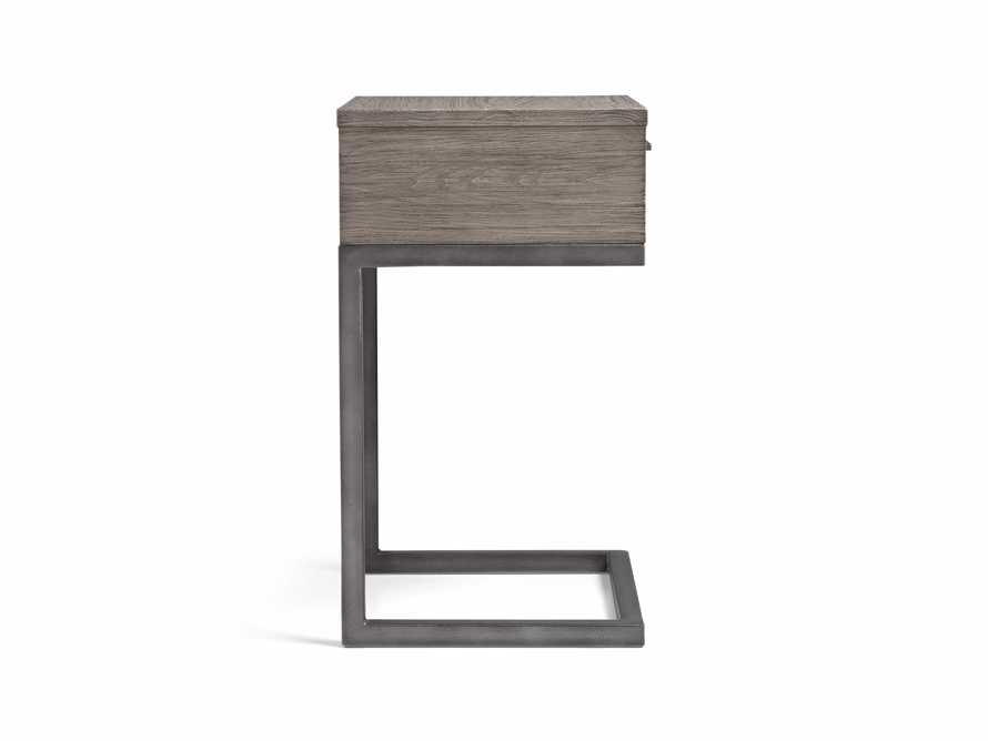 Palmer Storage Nightstand in Stone on Ash, slide 8 of 9