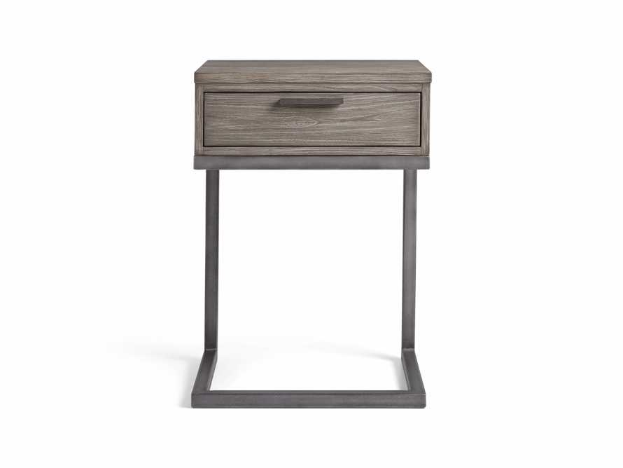 Palmer Storage Nightstand in Stone on Ash, slide 9 of 9