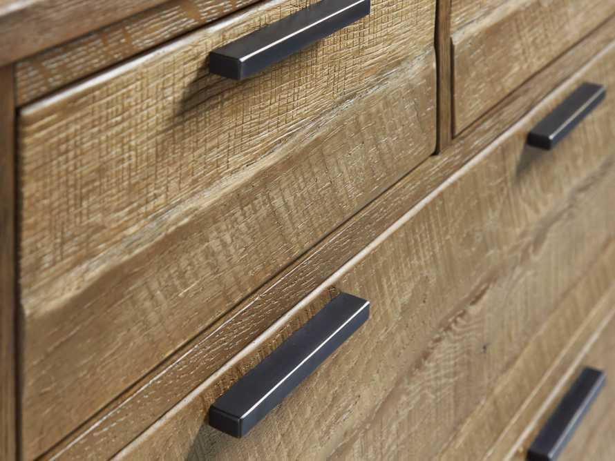 Palmer 2 Over 4 Drawer Dresser In Natural Oak, slide 6 of 6