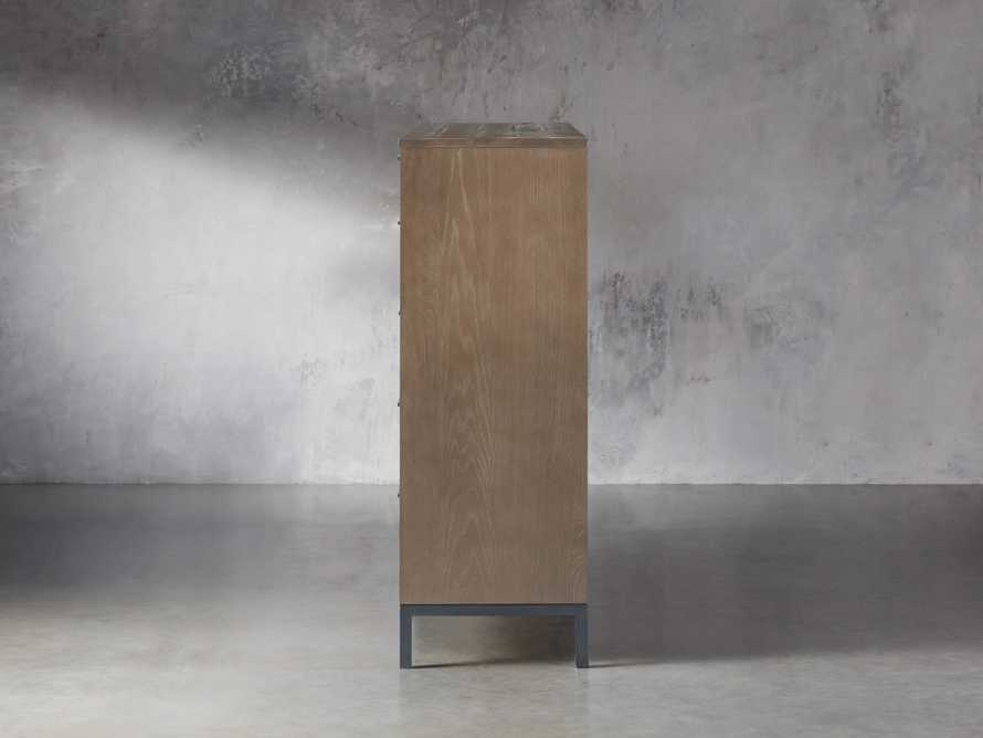 Palmer 2 Over 4 Drawer Dresser In Natural Oak, slide 4 of 6