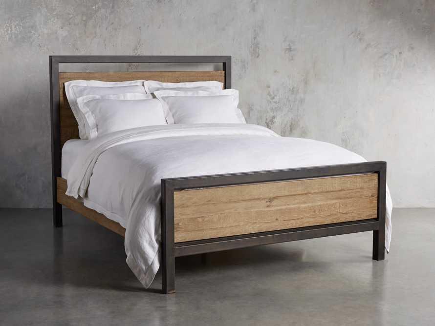 "Palmer 54"" Queen Bed in Natural Oak"