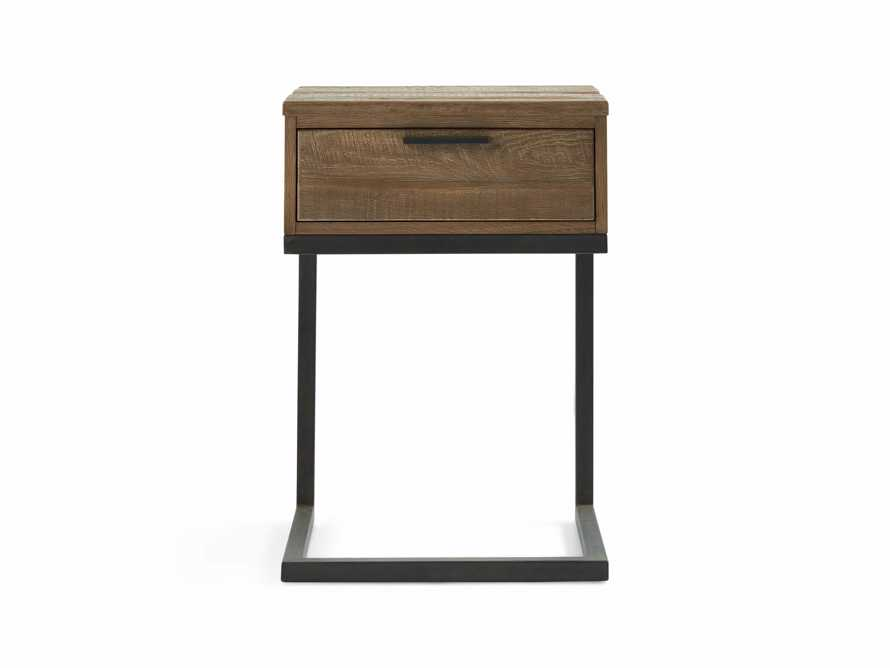 Palmer Storage Nightstand in Natural Oak, slide 2 of 7