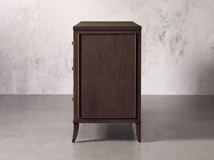 Pearson Six Drawer Wide Dresser in Bastian Brown