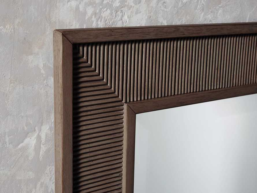 Pearson Mirror in Bastian Brown, slide 2 of 3