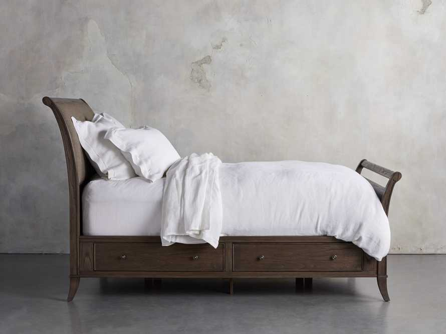Pearson King Storage Bed in Bastian Brown