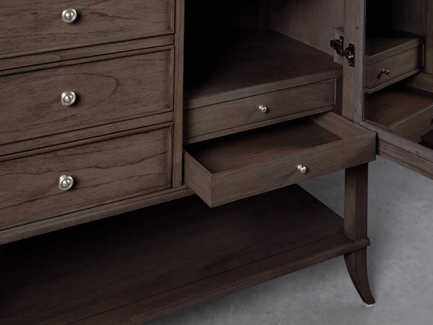 Pearson Armoire in Bastian Brown, slide 3 of 4