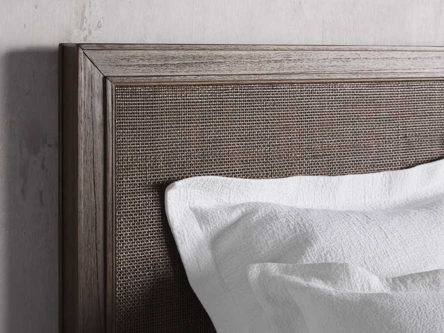 Pearson Queen Cane Bed in Bastian Brown, slide 4 of 6