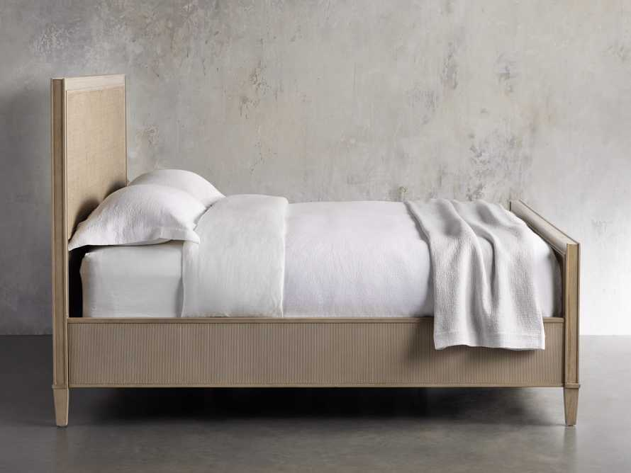 """Pearson 57"""" Gallery Cane King Bed in Basa Natural, slide 4 of 7"""