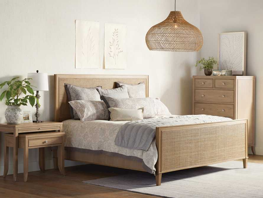 """Pearson 57"""" Gallery Cane King Bed in Basa Natural, slide 1 of 7"""