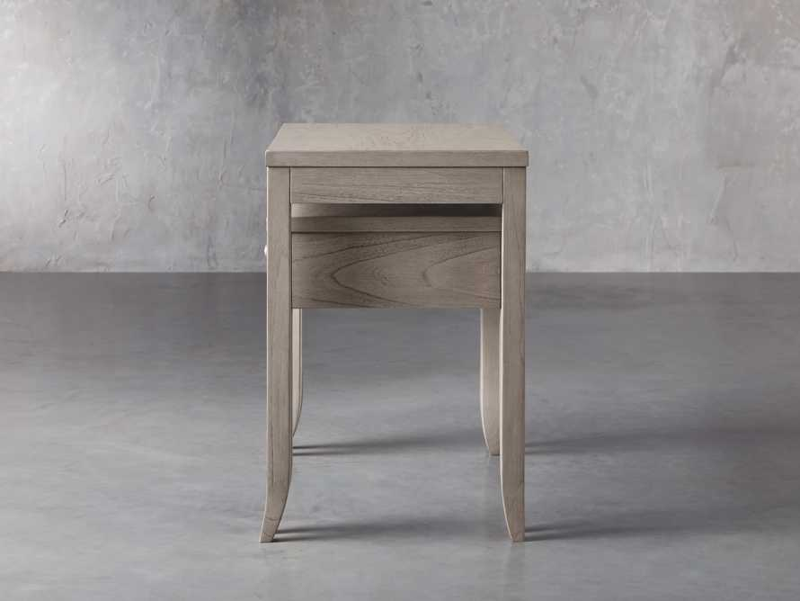 "Pearson 32"" Nesting Nightstand in Fog, slide 6 of 9"