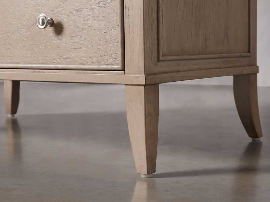 Pearson Three Drawer Chest in Basa Natural, slide 6 of 8