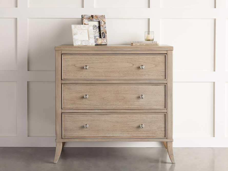 Pearson Three Drawer Chest in Basa Natural, slide 1 of 8