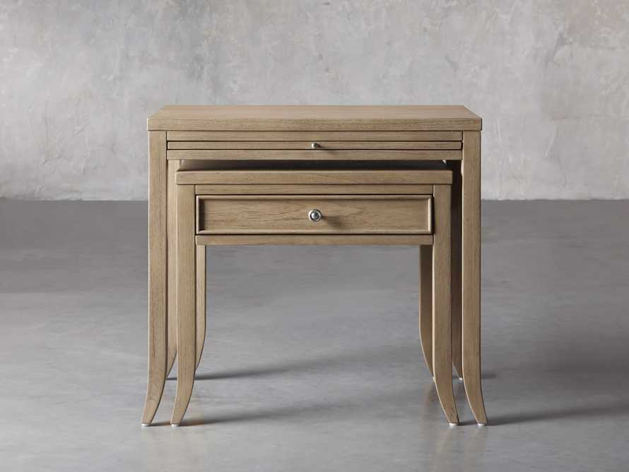 "Pearson 32"" Nesting Nightstand in Basa Natural, slide 1 of 8"
