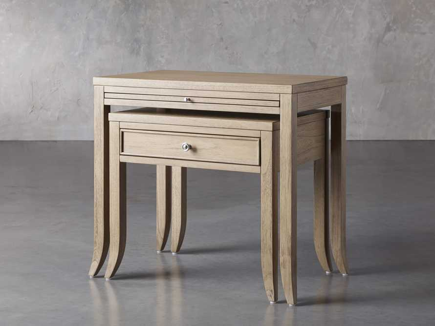 "Pearson 32"" Nesting Nightstand in Basa Natural, slide 2 of 8"