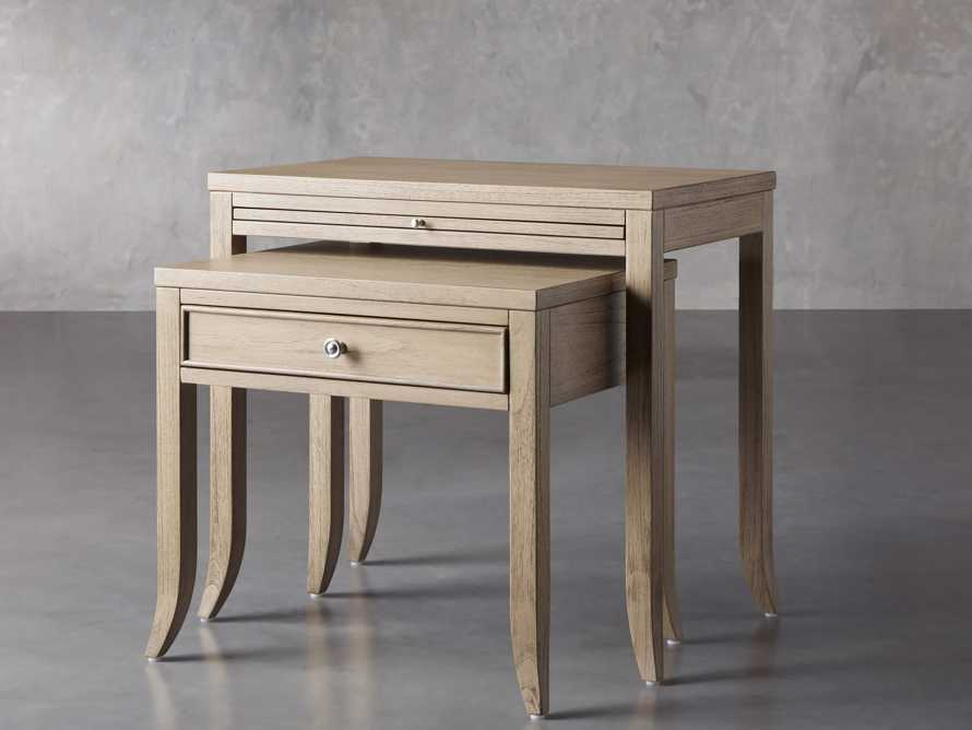 "Pearson 32"" Nesting Nightstand in Basa Natural, slide 3 of 8"