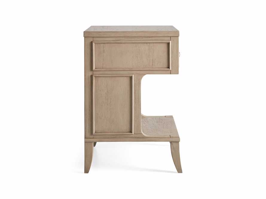 Pearson Storage Nightstand in Basa Natural