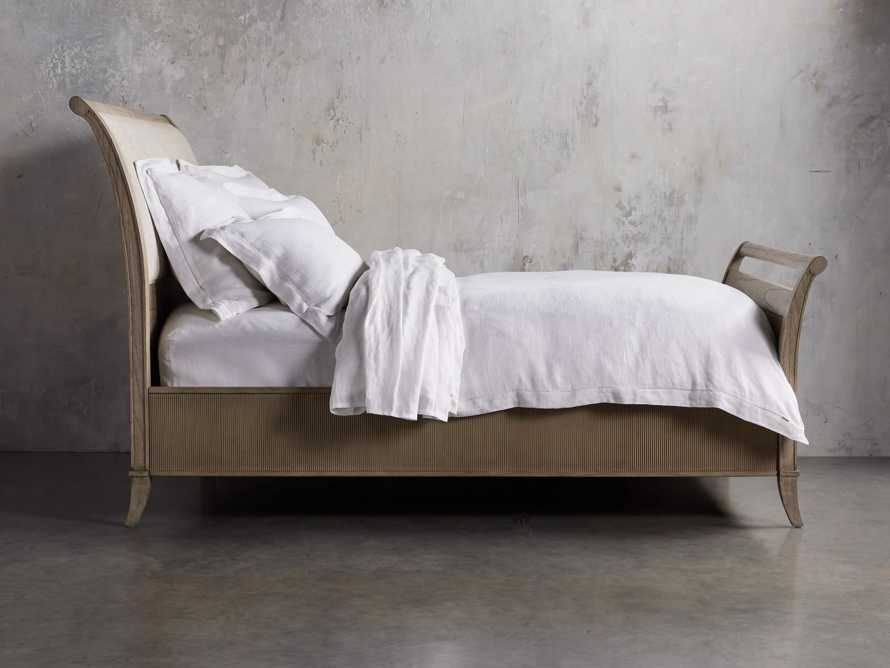 Pearson King Bed with Footboard in Basa Natural
