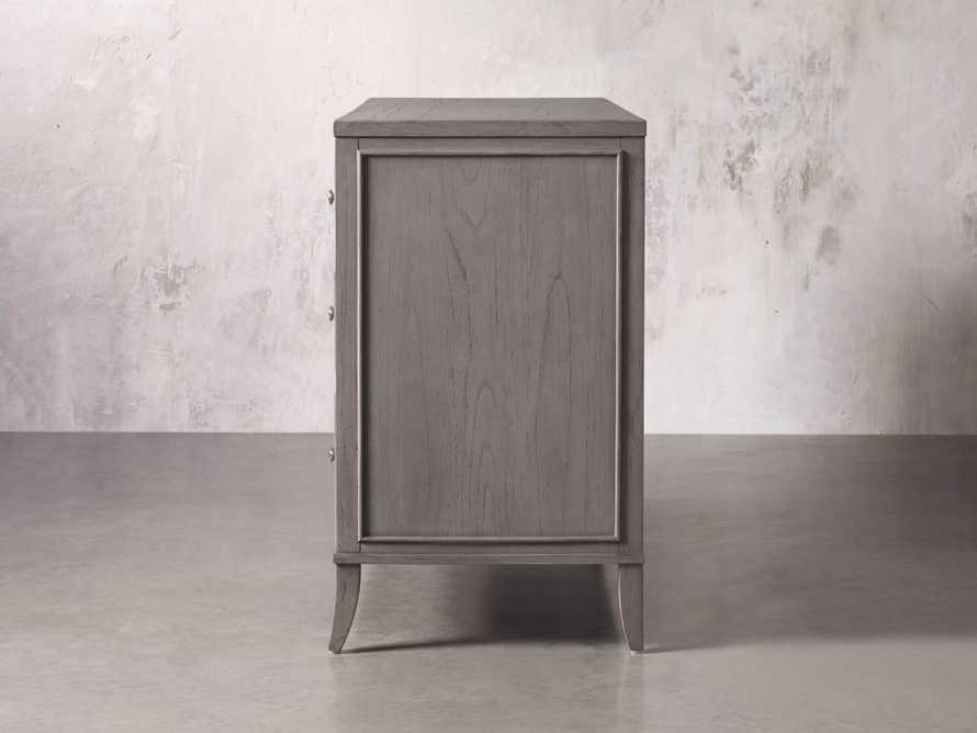 Pearson Six Drawer Wide Dresser in Stratus, slide 5 of 6