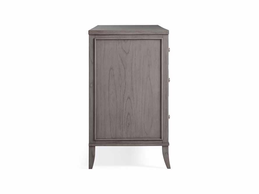 Pearson Six Drawer Wide Dresser in Stratus, slide 6 of 6