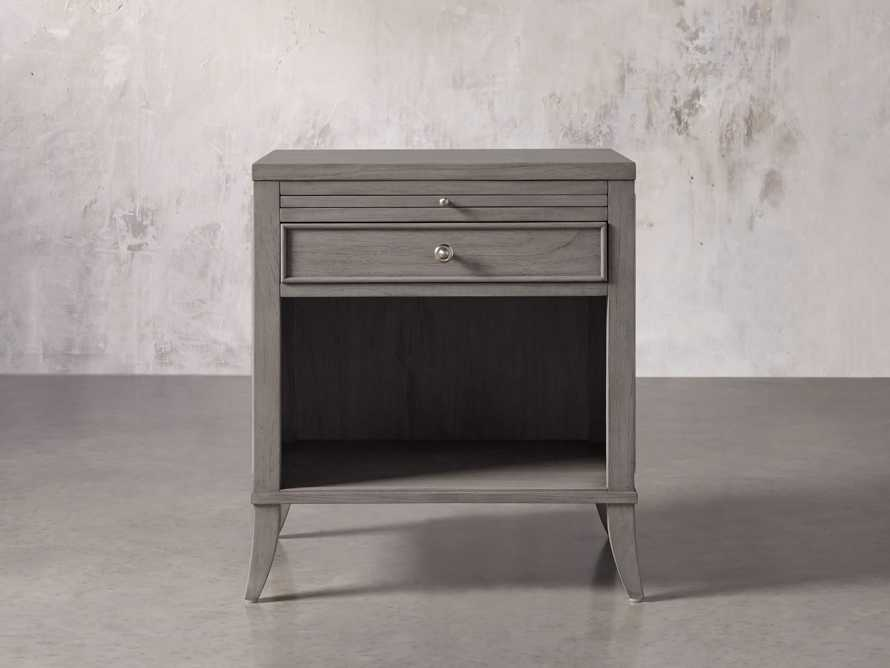 Pearson Nightstand in Stratus, slide 1 of 6