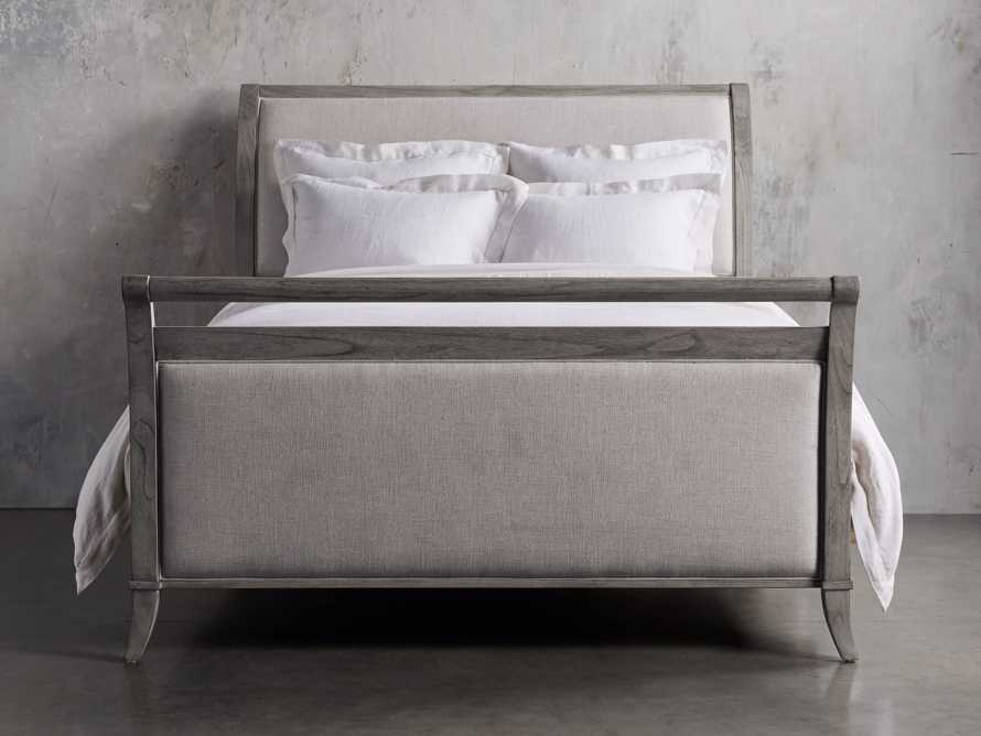 Pearson Queen Bed with Footboard in Stratus, slide 3 of 4