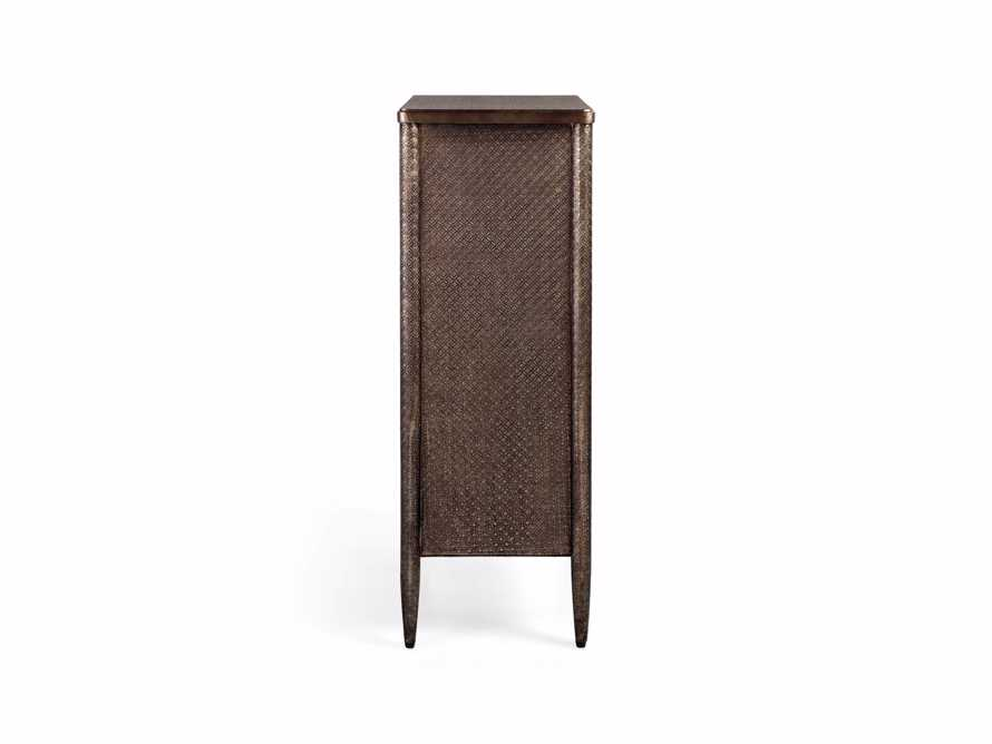 Percy Tall Dresser in Graphite, slide 8 of 8