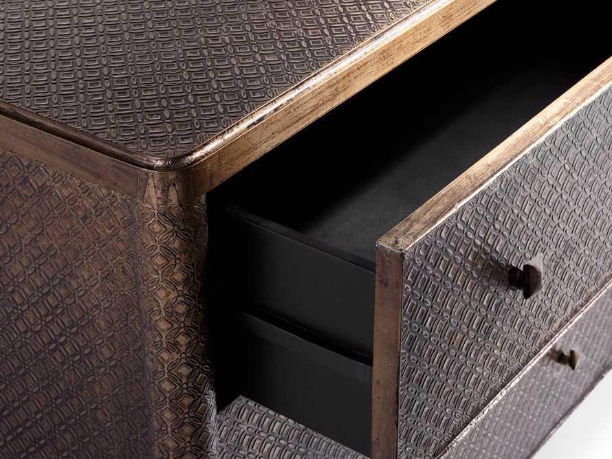 Percy Six Drawer Dresser in Graphite, slide 6 of 7