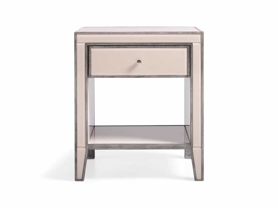 Reese 1 Drawer Nightstand in Galleria Blush