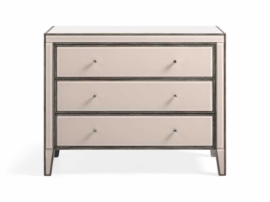 "Reese 42"" Three Drawer Chest in Galleria Blush, slide 2 of 8"