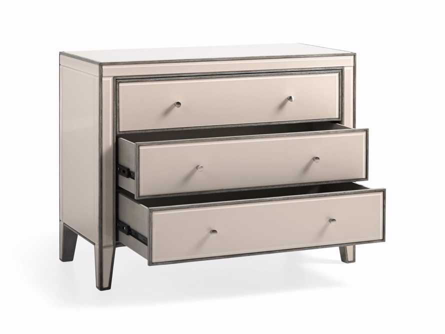 "Reese 42"" Three Drawer Chest in Galleria Blush, slide 4 of 8"