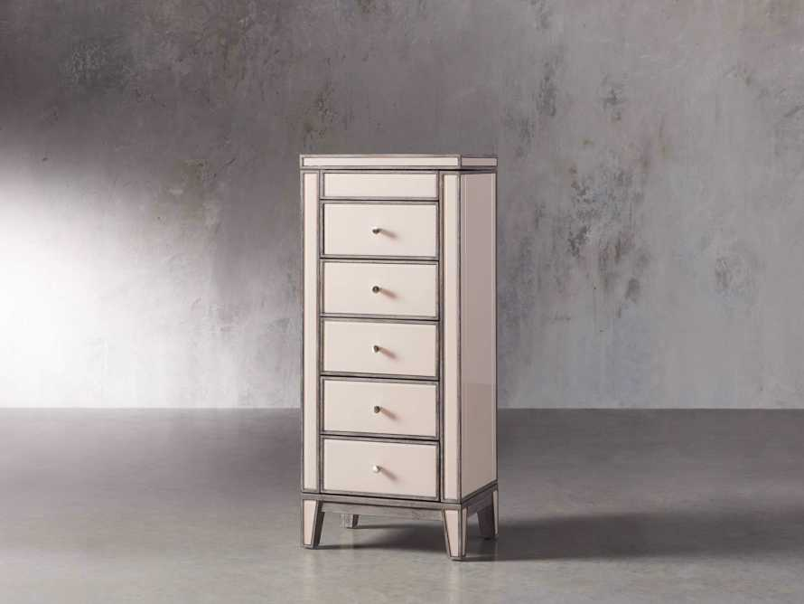 """Reese 20"""" Jewelry Chest in Galleria Blush, slide 2 of 10"""