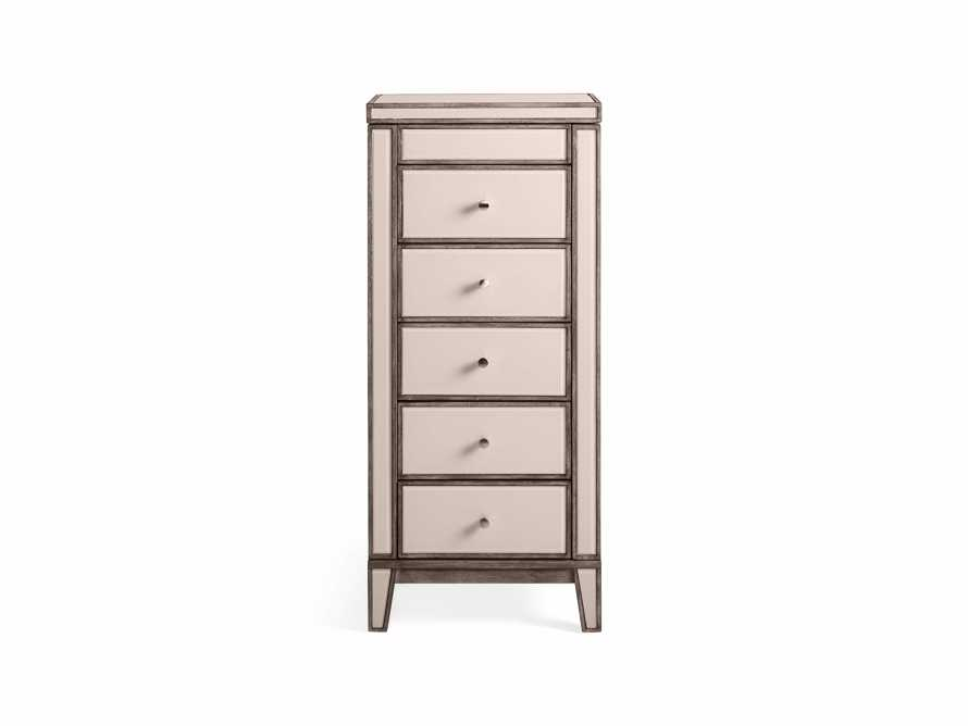 """Reese 20"""" Jewelry Chest in Galleria Blush, slide 9 of 10"""
