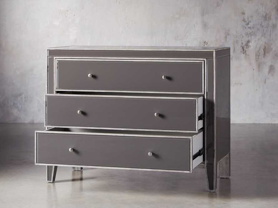 """Reese 42"""" 3 Drawer Chest in Galleria Grey"""