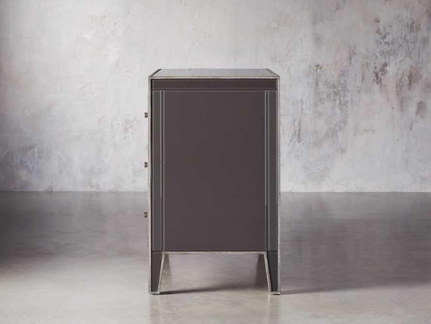 Reese Three Drawer Dresser in Galleria Grey, slide 4 of 7