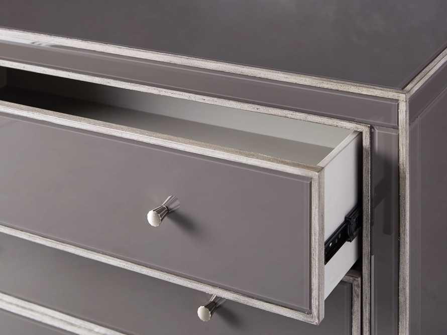 Reese Three Drawer Dresser in Galleria Grey, slide 5 of 7