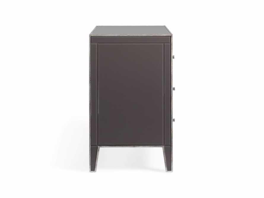 Reese Three Drawer Dresser in Galleria Grey, slide 7 of 7