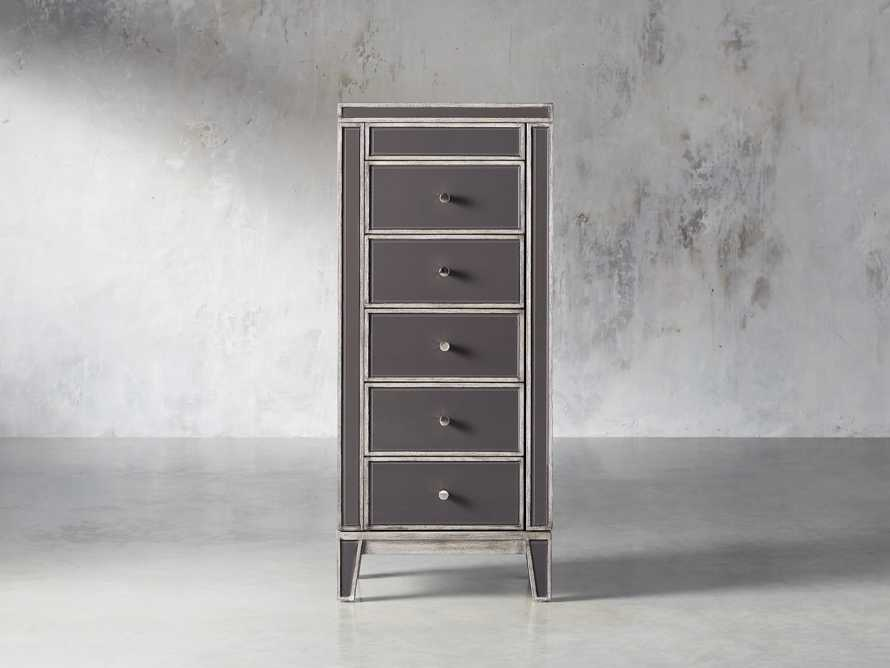 Reese Jewelry Chest in Galleria Grey, slide 1 of 10