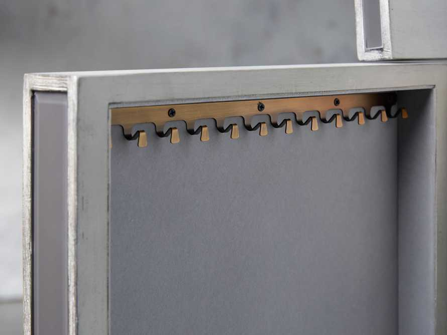 Reese Jewelry Chest in Galleria Grey, slide 6 of 10