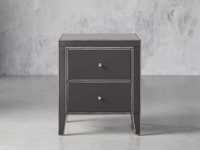 "Reese 24"" 2 Drawer Nightstand in Galleria Grey"