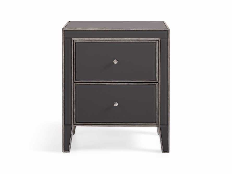 "Reese 23"" 2 Drawer Nightstand in Galleria Grey"